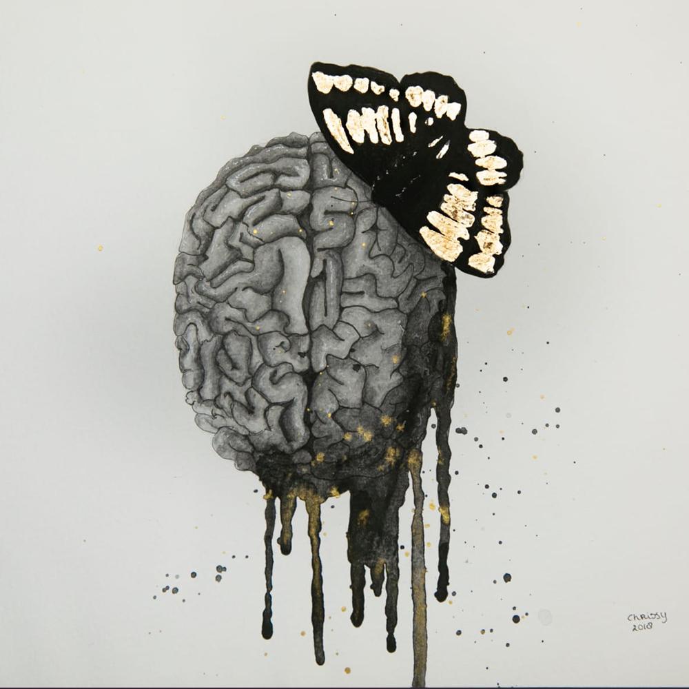 My beautiful stupid Brain Painting