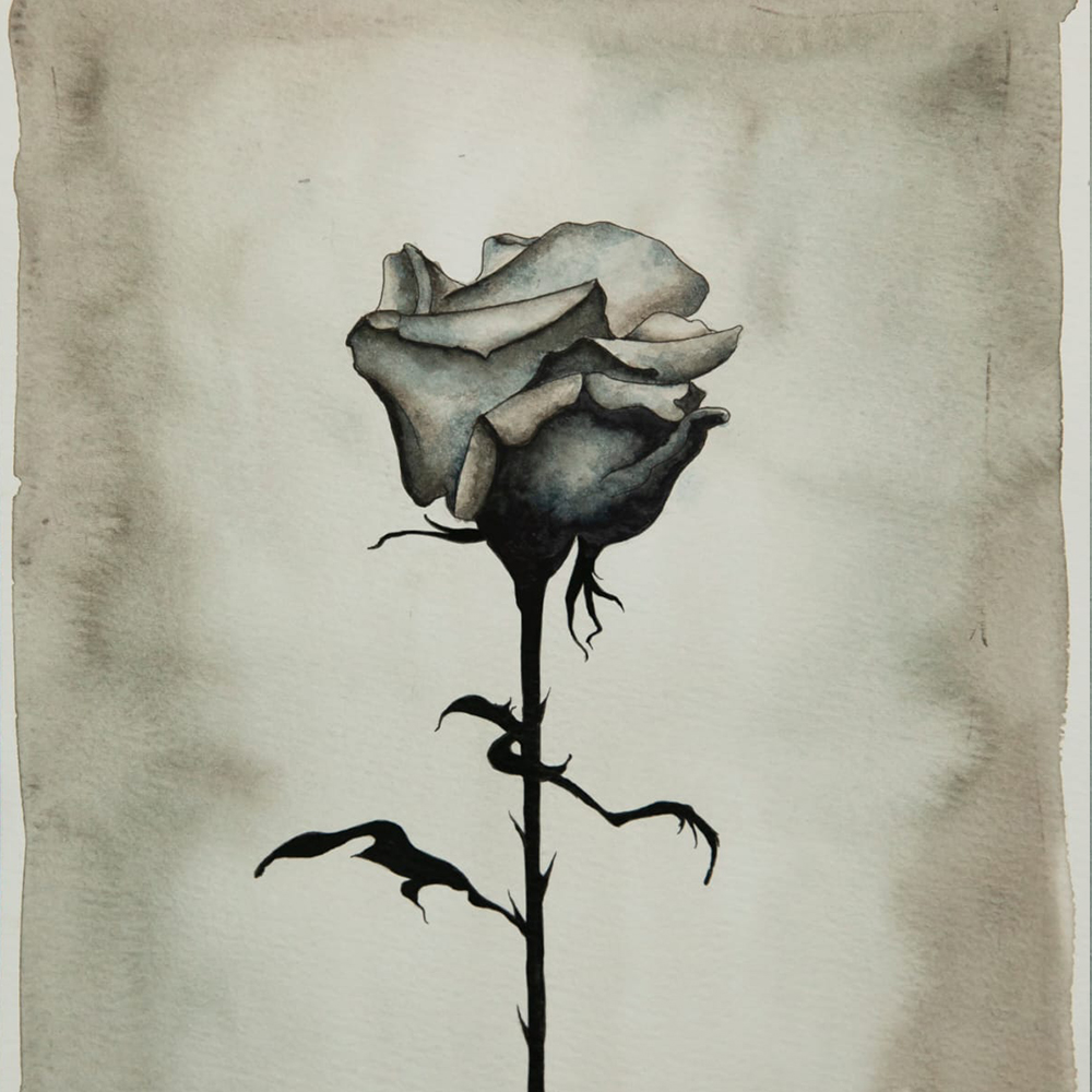 Roses are Death Painting